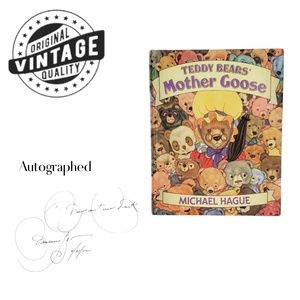 """Vintage Teddy BearsMother Goose Autographed 8""""x10"""""""